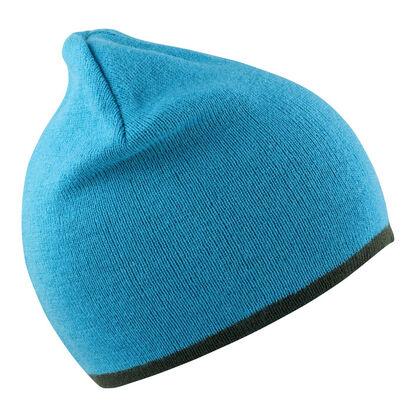 Двулицева плетена шапка С2332