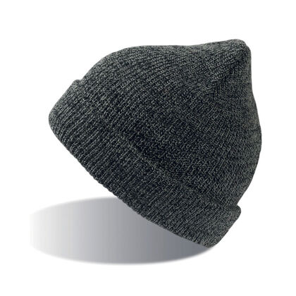 Плетена двуслойна шапка С2698