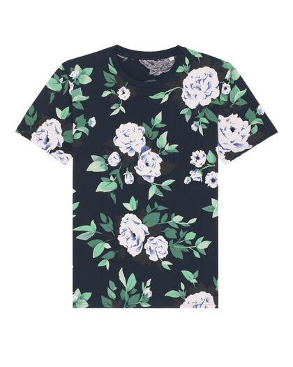 Цветна тениска от органичен памук С2690Д